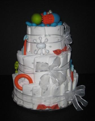 Our Hugs Custom Diaper Cakes